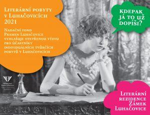 Otevřená výzva na Literární pobyty v Luhačovicích  2021